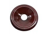 Oriental Furniture Asian Gifts and Home Decor 10cm woodent Diameter Round Cherry Ball Stand/base