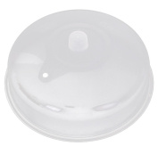 Malloom 2017 New Microwave Food Cover Plate Vented Splatter Protector Clear Kitchen Lid Safe Vent