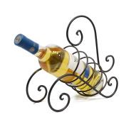 Single Bottle Tabletop Wine Rack