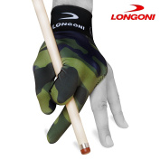 LONGONI Billiard POOL CUE GLOVE Fancy Military 1 for Left hand