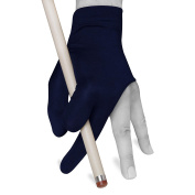 Billiard Pool Cue GLOVE by Fortuna - Economy - Fits either hand - One size fits all - Blue
