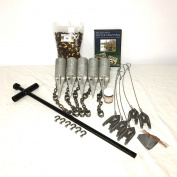 PcsOutdoors Standard Raccoon Trapping Starter Kit - USA Made Kit