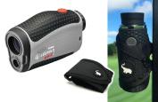 Leupold GX-2i3 Rangefinder with Magnetic Golf Cart Mount (Black) Bundle | Includes Golf Laser Rangefinder, Magnetic Golf Cart Mount, Carrying Case & One (1) CR2 Battery