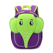 Neoprene Lightweight Elephant Backpack Insulated Lunch Carry Bag Snack Toddle Shoulder Bag for Boys Girls