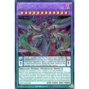 YuGiOh : MACR-EN039 1st Ed Supreme King Z-ARC Secret Rare Card -
