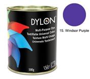 DYLON Windsor Purple Multi-Purpose Dye 500g Tin