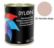 DYLON Reindeer Beige Multi-Purpose Dye 500g Tin