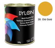 DYLON Old Gold Multi-Purpose Dye 500g Tin