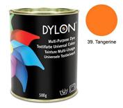 DYLON Tangerine Multi-Purpose Dye 500g Tin