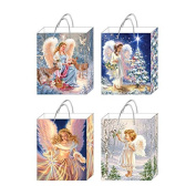 FLOMO Classic Tall Spirit of Christmas Gift Bags - Assorted