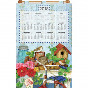 Design Works 2018 Calendar Felt Applique Kit