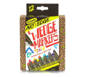 Crayola Art with Edge 12 Count Wedge Markers Novelty
