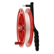Kids Outdoor Toy Wheel Kite Tool Reel Handle w/ Twisted String 40M Dia.17cm