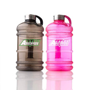 ★ Freak Athletics High Quality 2.2 Litre Water Bottle ★ Durable & Extra Strong ★ BPA Free, Stainless Steel Cap with Silicon Seal ★ Ideal for