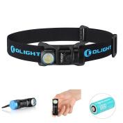 Olight® H1R NOVA Rechargeable Head Torch SOS Mode Pocket Light Compact Multi Use illumination Tool Headlamp with CREE XM-L2 LED and TIR Bead Lens