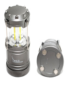 Wild Endeavours 300lm Magnetic LED Lantern - Ultra Bright Tough Collapsible Lamp - Great Light for Camping, Garage, Car , Shed, Loft, Hiking & Emergencies - Warranty Included