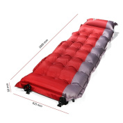 SELF INFLATING Camping Sleeping Pad Mat Mattress Bed OUTAD Extra Thick Lightweight With Pillow For Camping, Backpacking, Tents