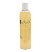 Body Food Coconut Oil Shampoo with Shea Butter and Hemp Oil, 240ml