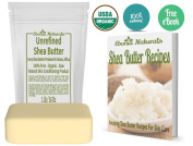 Unrefined shea butter from Ebonia Naturals - African, Raw Deep Conditioning moisturiser - use directly or in DIY recipes for eczema, dermatitis, skin care,acne - make bars, lotions and creams