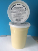afrikaimports African Shea Butter, 100% Natural, 950ml, White