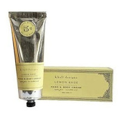 k. hall designs Lemon Sage Hand & Body Cream 100ml Tube