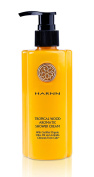 TROPICAL WOOD - AROMATIC - SHOWER CREAM with Certified ORGANIC Olive Oil & Chinensis Fresh Cells, 230ml