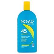 No-Ad Sun Care 45 Sunscreen Lotion SPF 45, 470ml Per Bottle