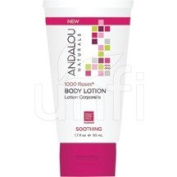 1000 Roses Soothing Body Lotion Travel Size Andalou Naturals 50ml Liquid