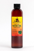 Neem Oil Organic Unrefined by H & B OILS centre Raw Virgin Cold Pressed Premium Quality Natural Pure 240ml
