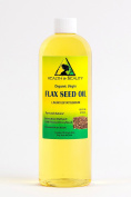 Flax Seed Oil Organic Unrefined by H & B OILS centre Raw Virgin Cold Pressed Premium Quality Natural Pure 470ml