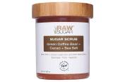 Raw Sugar Body green coffee bean+cacao+sea salt Scrub 590ml