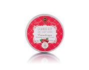 Cranberry Salt Body Scrub Natural Organic and Aromatic Handmade Mineral Body Scrub Skin Treatment -