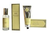 k. hall designs Lemon Sage Hand & Body Cream with Spray Eau de Parfum Gift Set