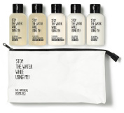 Stop The Water While Using Me! - All Natural Travel Kit
