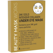 24K Gold Intensive Collagen Under Eye Mask 5-pr.