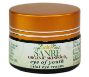 SanRe Organic Skinfood - EYE OF YOUTH - Anti-Ageing Eye Cream - Holistic, Non-GMO & Gluten Free