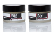 Zum Face Under Eye Butter (Pack of 2) with Organic Shea Butter, Macadamia Nut Oil, Evening Primrose Oil, Beeswax, Essential Oils and Vitamin E, 30ml