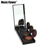 ZACY Makeup Eyeliner Gel & Eyebrow Powder Palette Waterproof Lasting Smudgeproof Cosmetics Eye Brow Enhancers