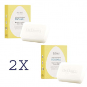 2x DR.DOUXI Essence of Eggshell Cream Moisturising Face Washing Soap Bar