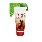 Red Ginseng Skin Relaxation Healthy Beauty Face Foam Cleansing Pore Clean Washer