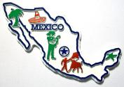 Mexico 4 Colour Fridge Magnet