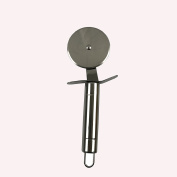 Fixture Displays 6.4cm Pizza Rotary Cutter Wheel with Metal Handle18007!