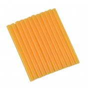 GlueSticksDirect Translucent Peach Coloured Glue Sticks mini X 10cm 12 Sticks