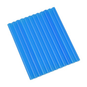 GlueSticksDirect Translucent Blue Coloured Glue Sticks mini X 10cm 12 Sticks