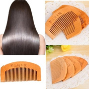 Hair Care Antistatic Natural Mahogany Comb Mini Size by BinStore