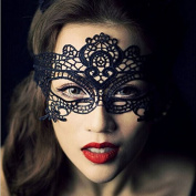 Sexy Lace Prom Masquerade Ball Mask Costume Ball Mask Black White by BinStore