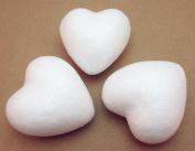 "Dandan DIY 30pcs 6cm(2.4"")Approx Smooth Foam Heart Shaped Foam Craft Making Foam Ball Home Wedding Decor Love Style Diy Supply"