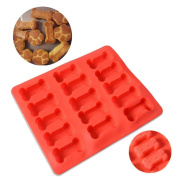 IGEMY Silicone Food Grade Cake Mould Mats Puppy Dog Bones Silicone Baking Mould Biscuit
