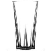 Elite Penthouse Polycarbonate Nucleated Pint Glasses CE 20oz / 568ml - Set of 4