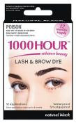 1000 Hour Eyelash & Brow Dye / Tint Kit Permanent Mascara
